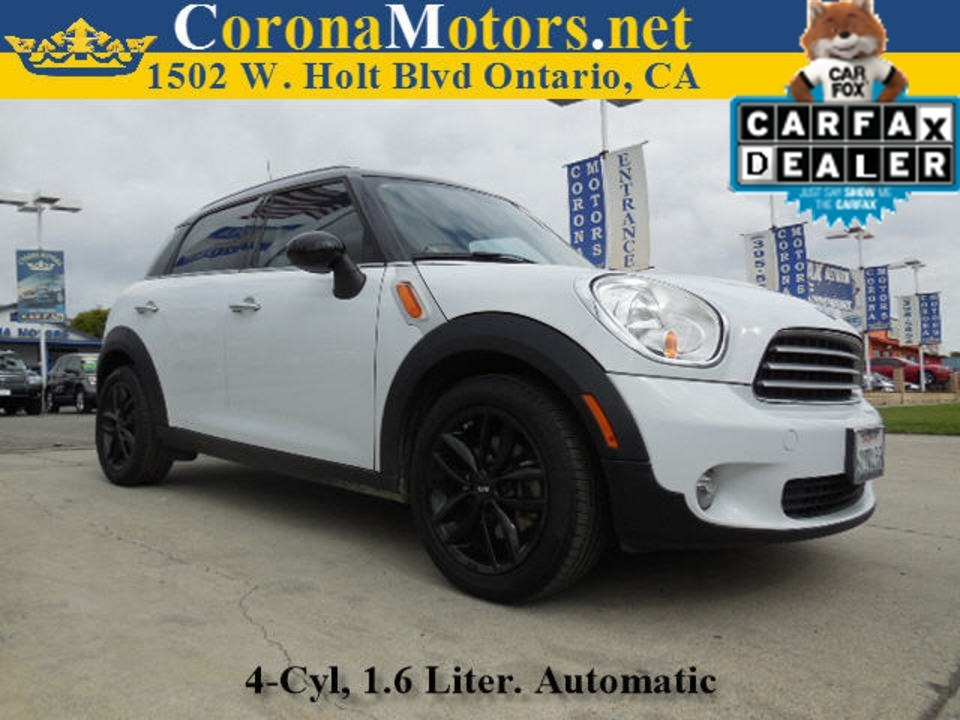 2012 Mini Cooper Countryman  - 12695  - Corona Motors