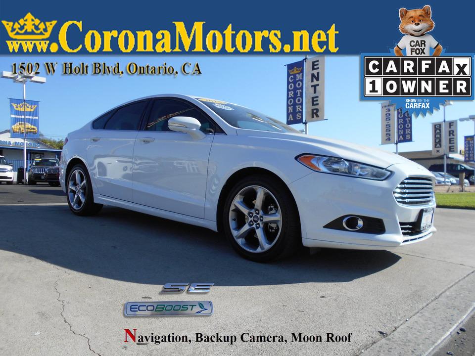 2015 Ford Fusion SE  - 12906  - Corona Motors