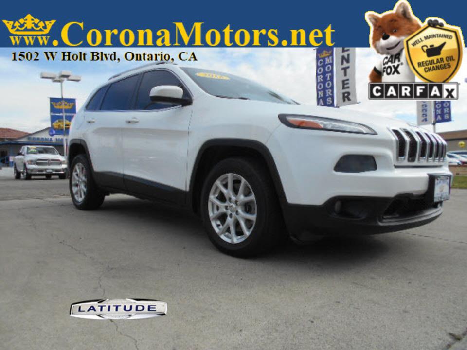 2015 Jeep Cherokee Latitude  - 12729  - Corona Motors