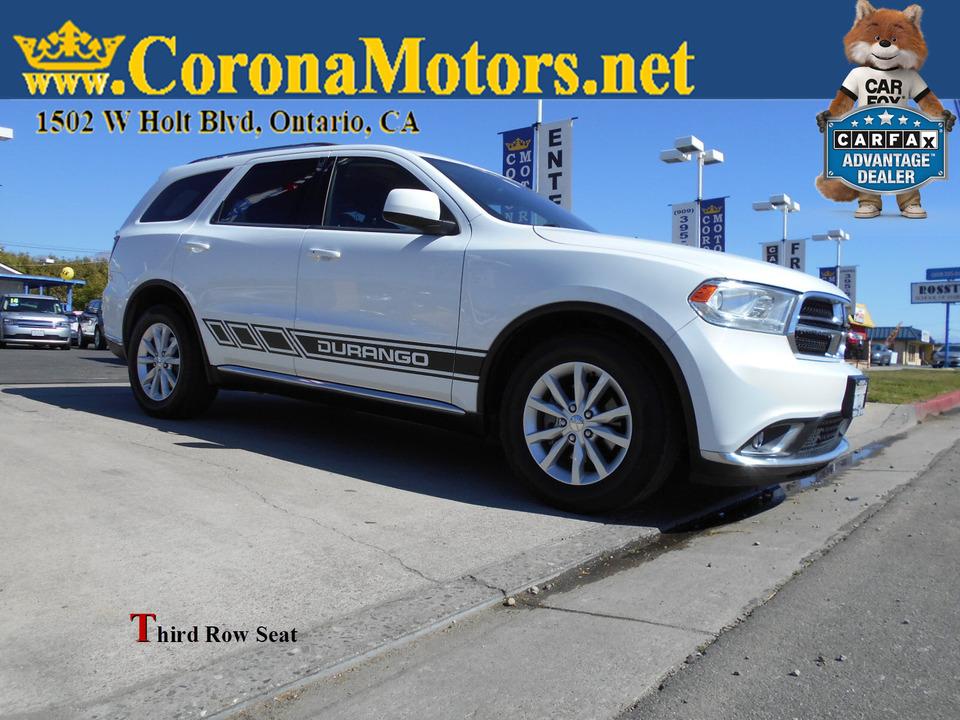 2015 Dodge Durango SXT  - 13008  - Corona Motors