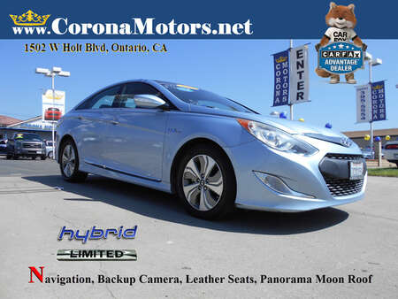 2013 Hyundai Sonata Hybrid Limited w/Panoramic Sunroof Pkg for Sale  - 13195  - Corona Motors