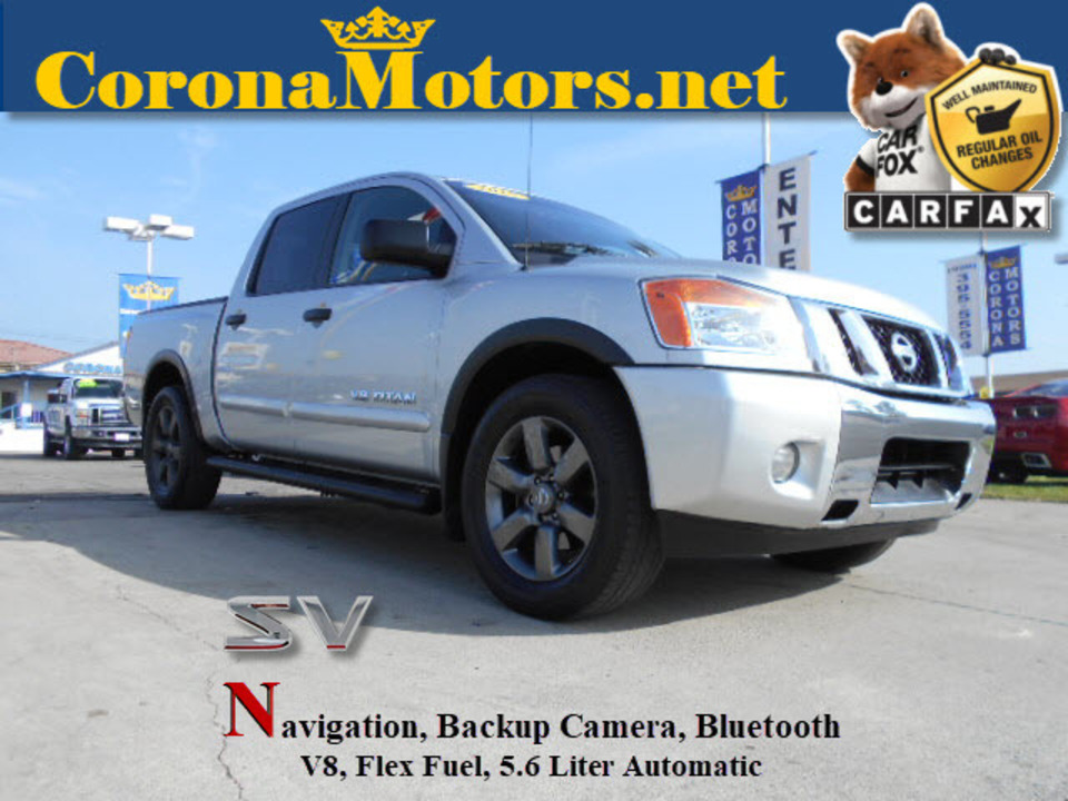 2015 Nissan Titan SV  - 12603  - Corona Motors
