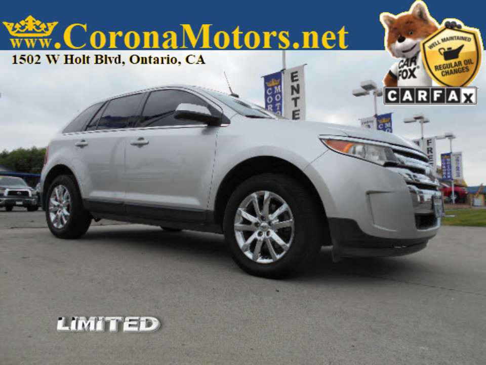 2013 Ford Edge Limited  - 12757  - Corona Motors