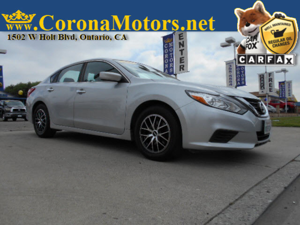 2016 Nissan Altima 2.5 S  - 12759  - Corona Motors