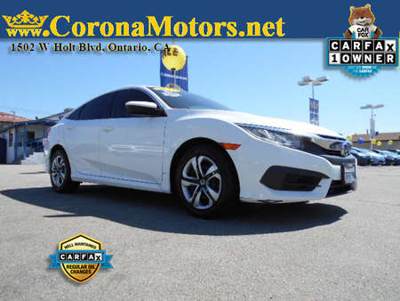 2016 Honda Civic Sedan LX for Sale  - 12767  - Corona Motors
