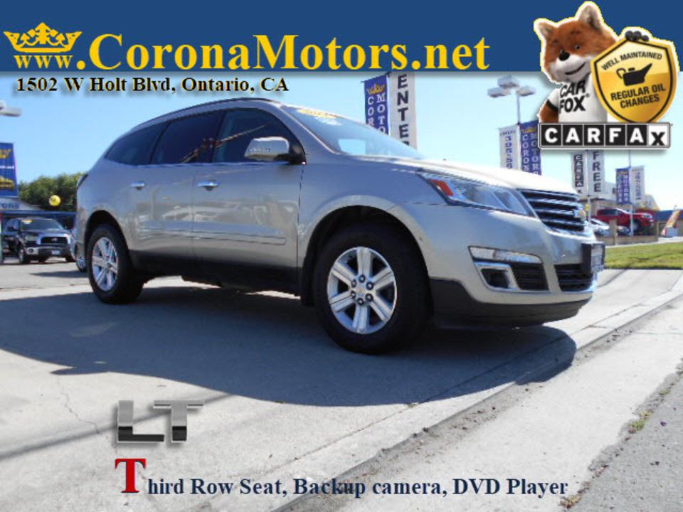 2014 Chevrolet Traverse LT  - 12766  - Corona Motors