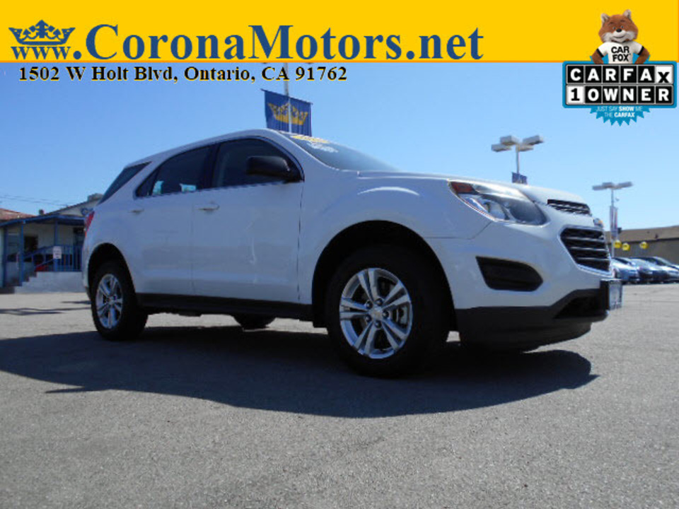2016 Chevrolet Equinox LS  - 12756  - Corona Motors