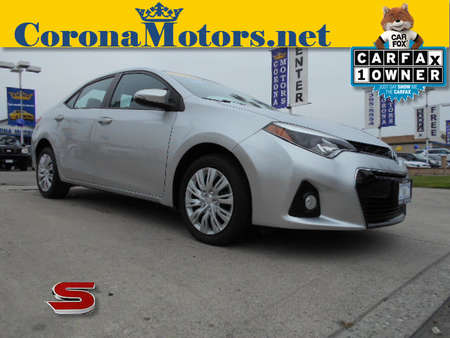 2014 Toyota Corolla S for Sale  - 12447  - Corona Motors