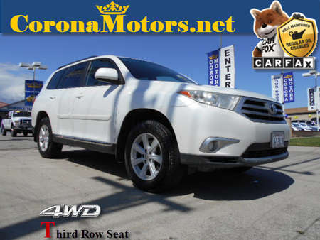 2012 Toyota Highlander SE for Sale  - 12433  - Corona Motors