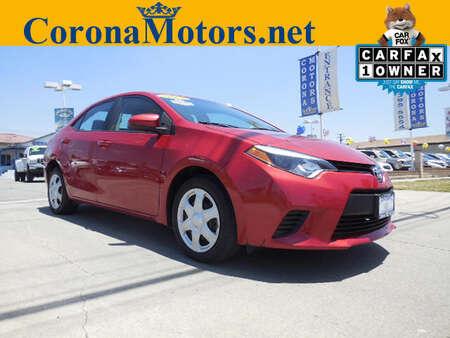 2014 Toyota Corolla LE for Sale  - 12093  - Corona Motors