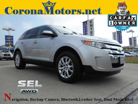 2013 Ford Edge SEL for Sale  - 12451  - Corona Motors