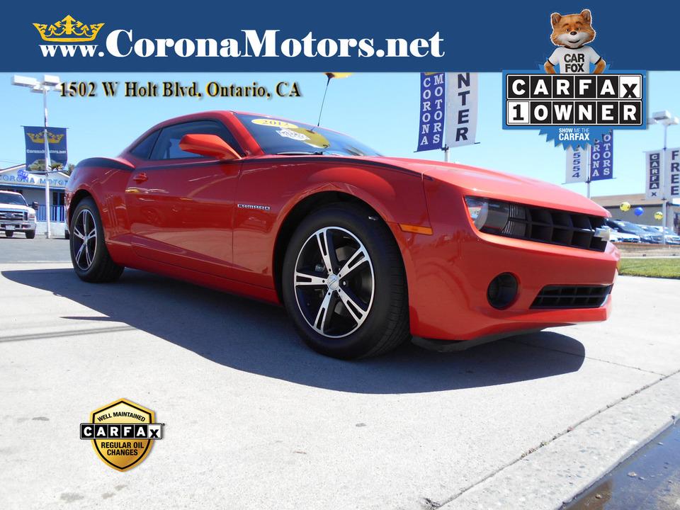 2012 Chevrolet Camaro 1LS  - 13068  - Corona Motors