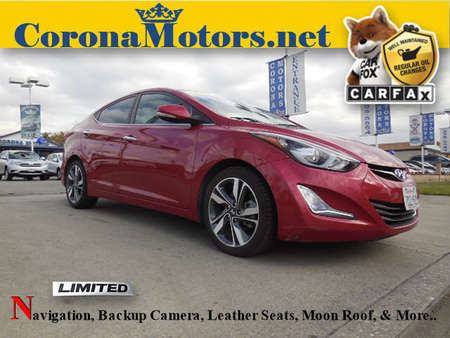 2014 Hyundai Elantra Limited for Sale  - 12271  - Corona Motors