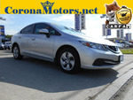 2015 Honda Civic Sedan LX  - 12497  - Corona Motors
