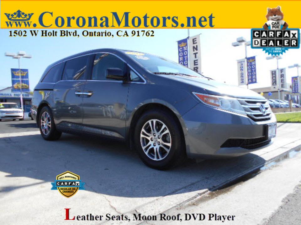 2011 Honda Odyssey EX-L  - 12851  - Corona Motors