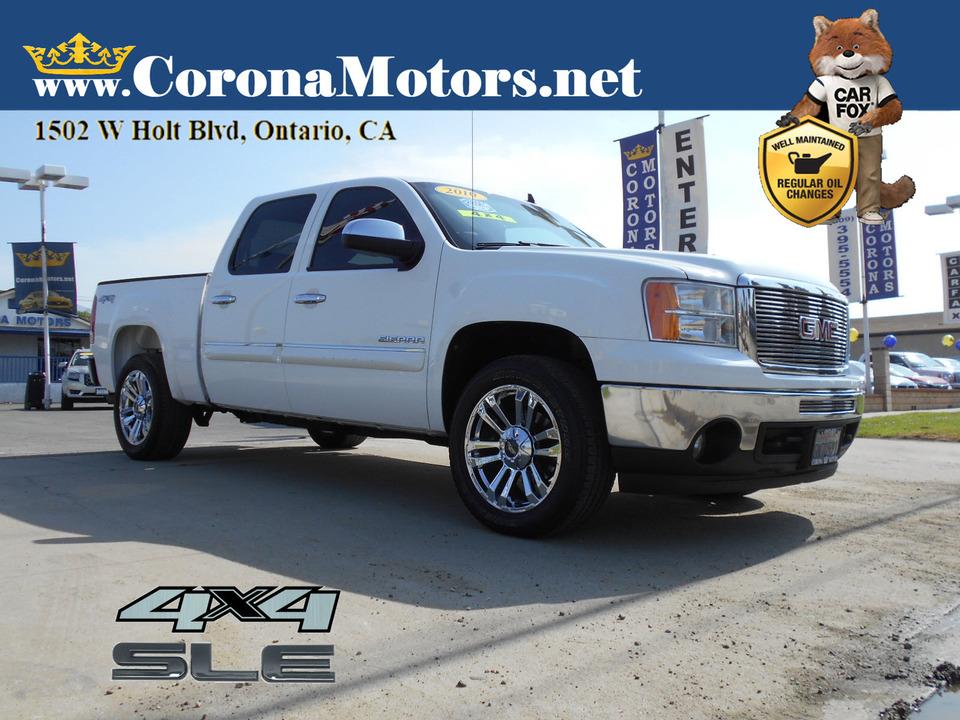 2010 GMC Sierra 1500 SLE 4WD  - 13144  - Corona Motors