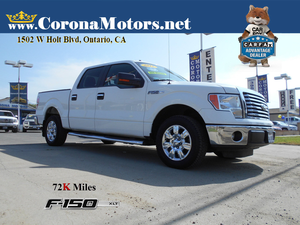 2012 Ford F-150 XLT  - 13143  - Corona Motors