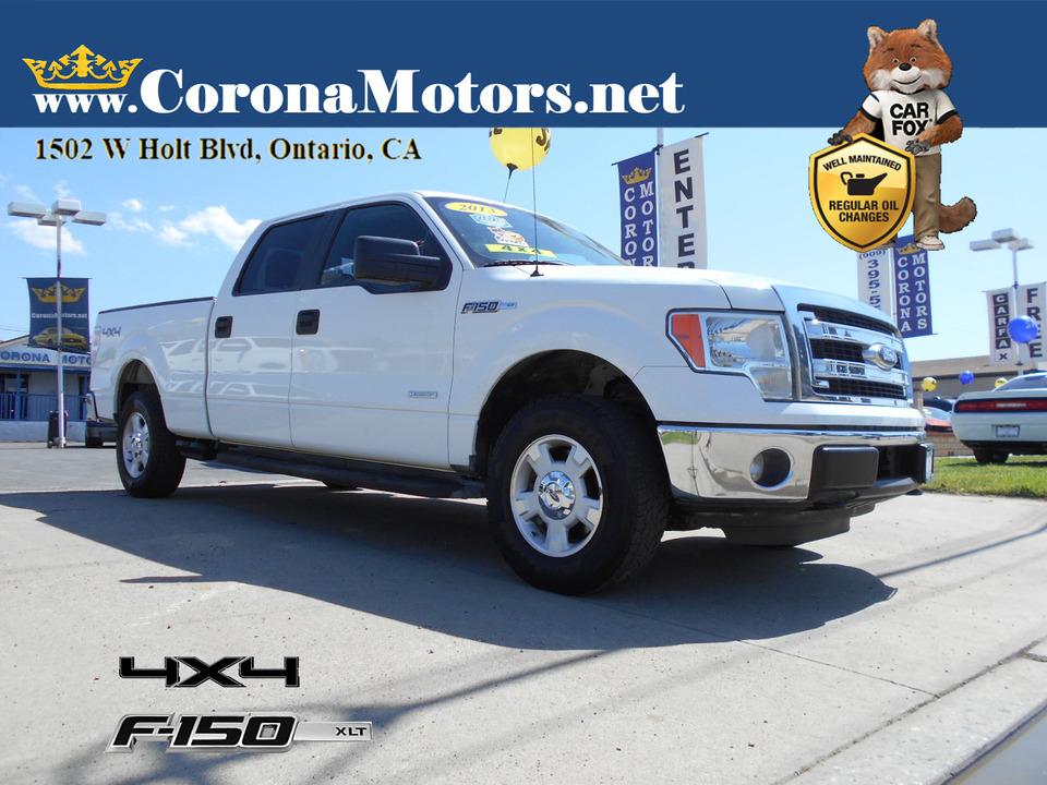 2013 Ford F-150 XLT 4X4  - 13121  - Corona Motors