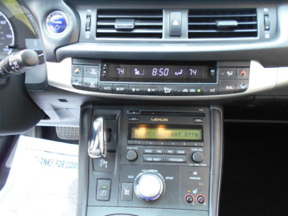 2012 Lexus CT 200h  - Corona Motors