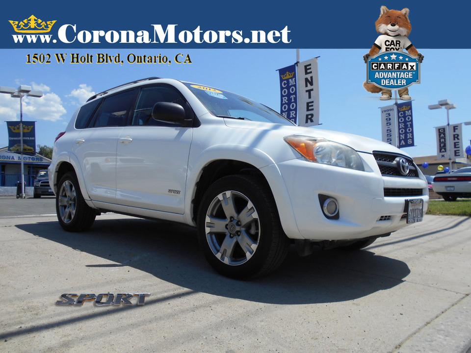2012 Toyota RAV-4 Sport  - 13119  - Corona Motors