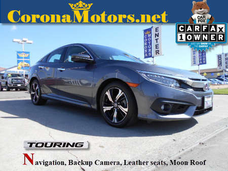 2016 Honda Civic Sedan Touring for Sale  - 12563  - Corona Motors