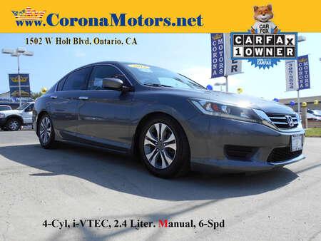 2014 Honda Accord Sedan LX for Sale  - 13132  - Corona Motors