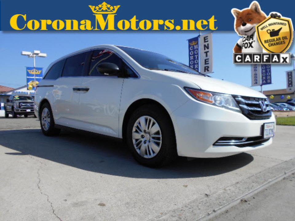 2014 Honda Odyssey LX  - 12560  - Corona Motors
