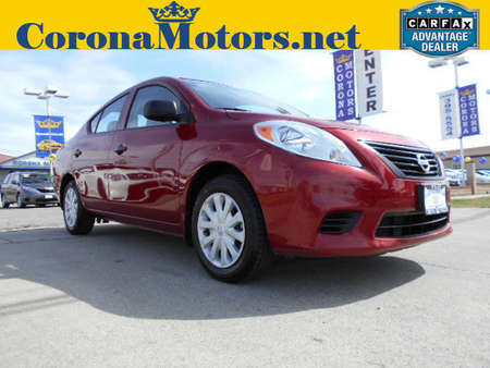 2014 Nissan Versa S Plus for Sale  - 12396  - Corona Motors