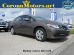 2015 Honda Civic Sedan LX  - 12538  - Corona Motors