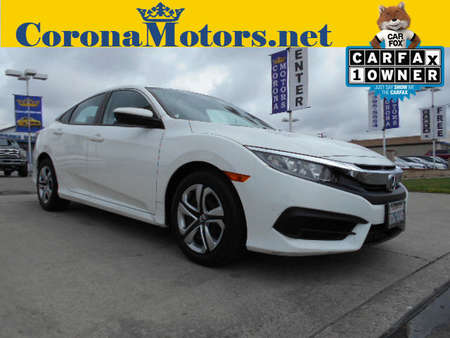2016 Honda Civic Sedan LX for Sale  - 12371  - Corona Motors