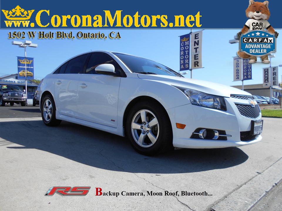 2014 Chevrolet Cruze 1LT  - 12881  - Corona Motors