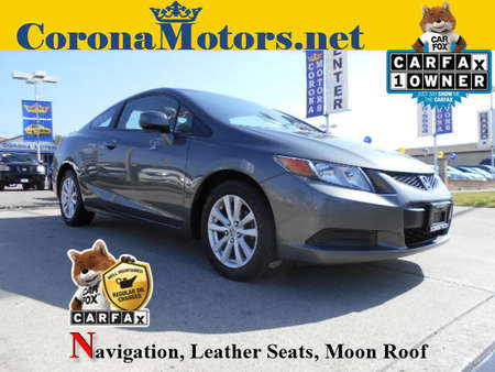 2012 Honda Civic EX-L for Sale  - 12414  - Corona Motors