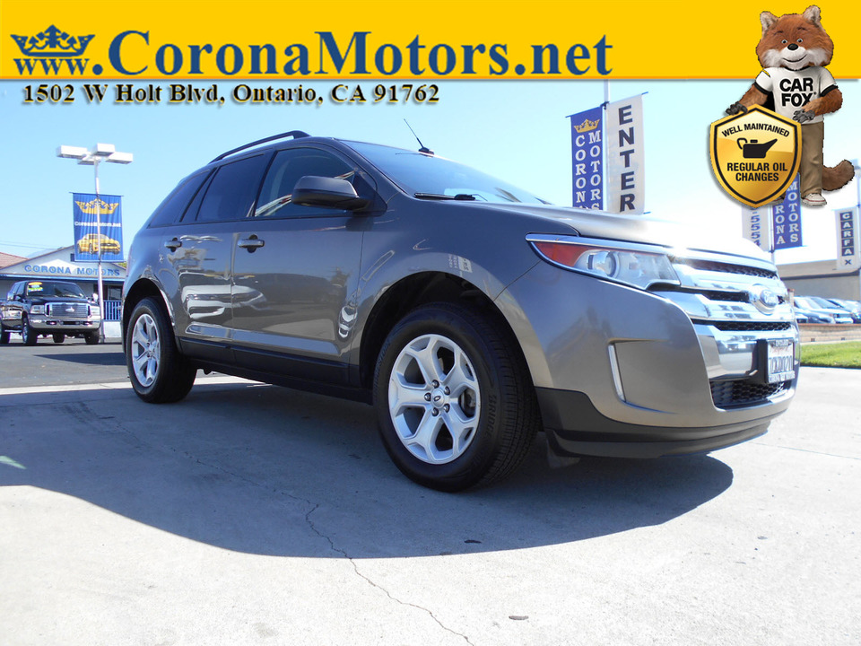 2013 Ford Edge SEL  - 12882  - Corona Motors