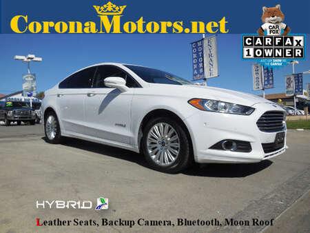 2014 Ford Fusion SE Hybrid for Sale  - 12193  - Corona Motors