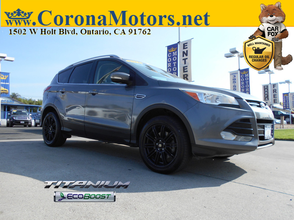 2014 Ford Escape Titanium  - 12893  - Corona Motors