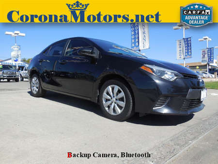 2015 Toyota Corolla LE for Sale  - 12196  - Corona Motors