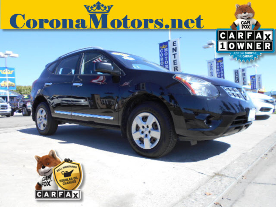 2015 Nissan Rogue Select  - 12567  - Corona Motors