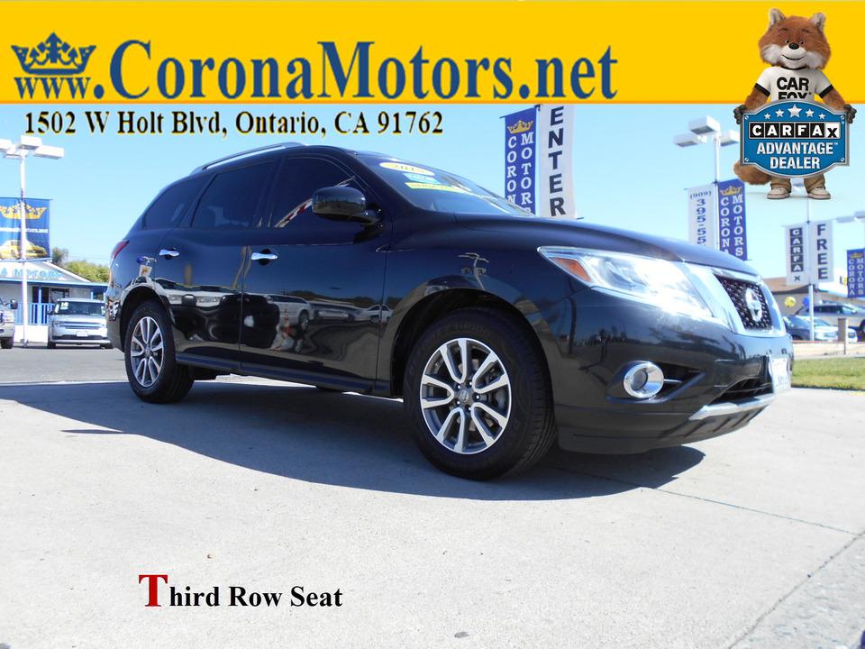 2015 Nissan Pathfinder SV  - 13013  - Corona Motors