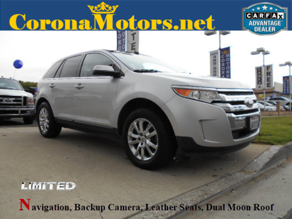 2012 Ford Edge Limited  - 12550  - Corona Motors