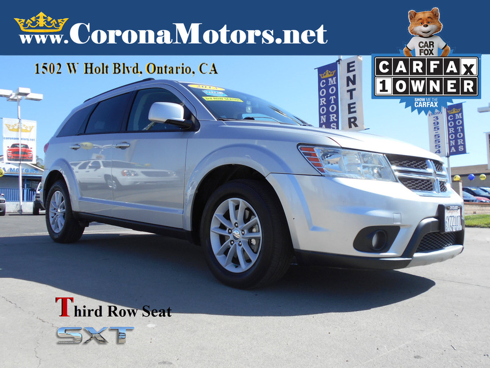 2013 Dodge Journey SXT  - 13187  - Corona Motors