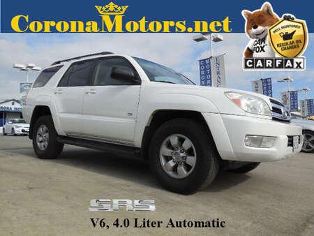 2005 Toyota 4Runner SR5 Sport for Sale  - 4RUNN170  - Corona Motors