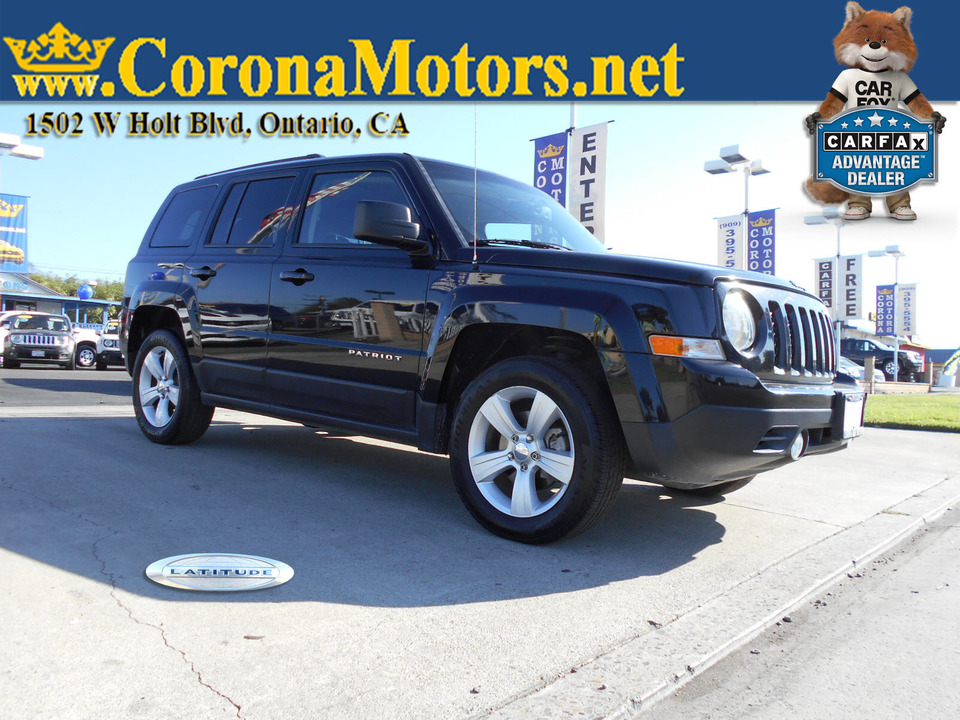 2016 Jeep Patriot Latitude  - 12903  - Corona Motors