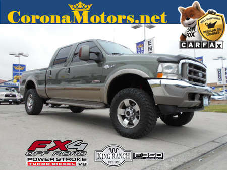 2004 Ford F-350 King Ranch for Sale  - 12464  - Corona Motors