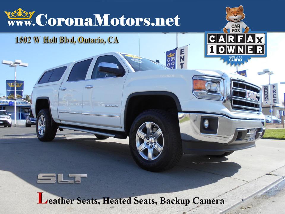 2015 GMC Sierra 1500 SLT  - 13055  - Corona Motors