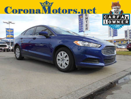 2016 Ford Fusion S for Sale  - 12589  - Corona Motors