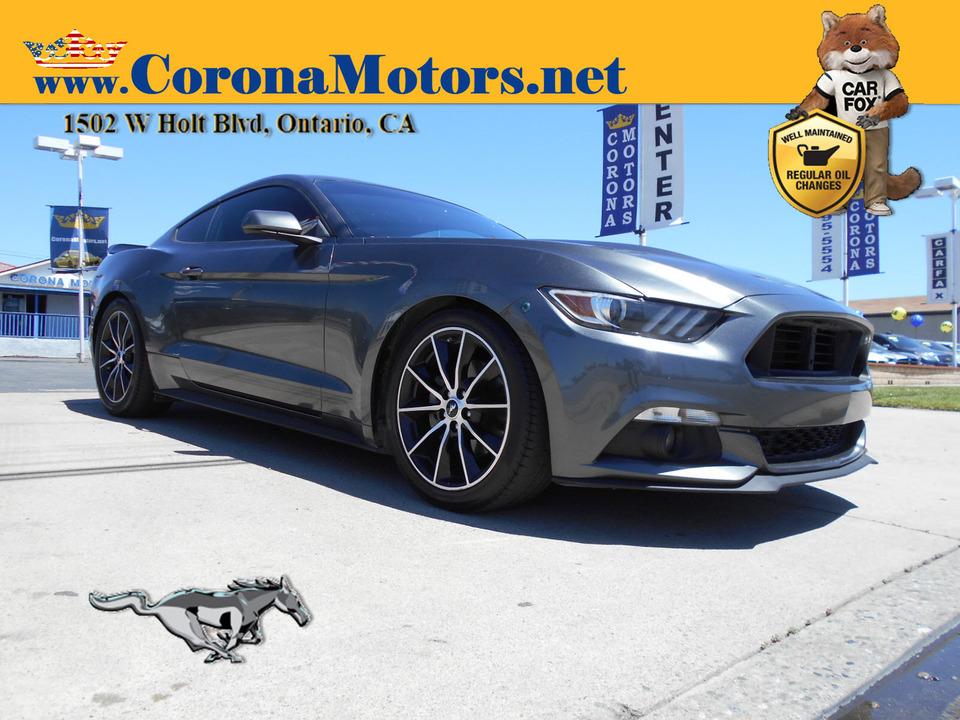 2015 Ford Mustang EcoBoost  - 13075  - Corona Motors