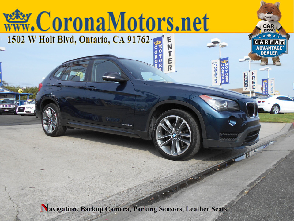 2015 BMW X1 sDrive28i  - 12926  - Corona Motors