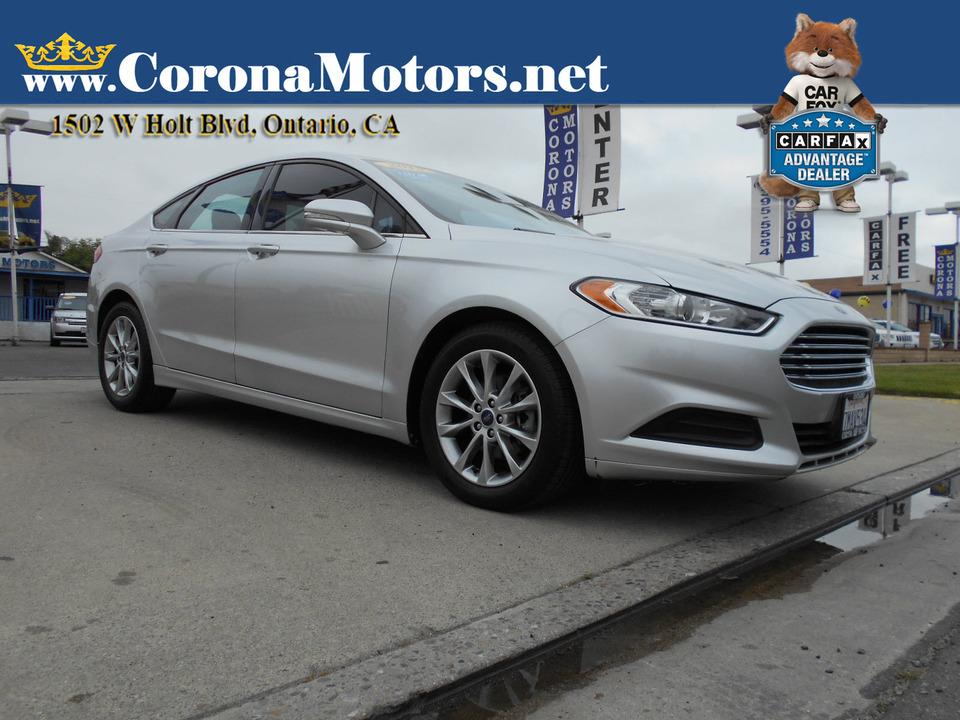 2013 Ford Fusion SE  - 13088  - Corona Motors