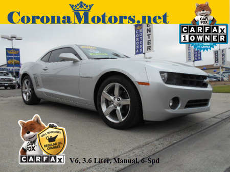 2011 Chevrolet Camaro 1LT for Sale  - 12507  - Corona Motors