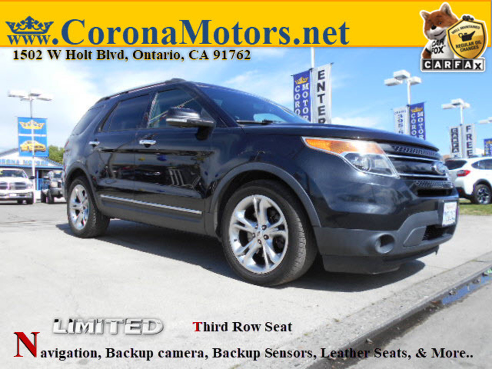 2014 Ford Explorer Limited  - 12717  - Corona Motors